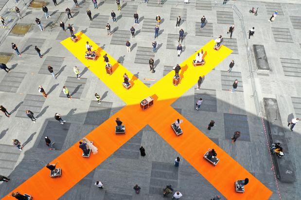 Cultuursector houdt met 'Sound of silence' stilteactie in grote steden