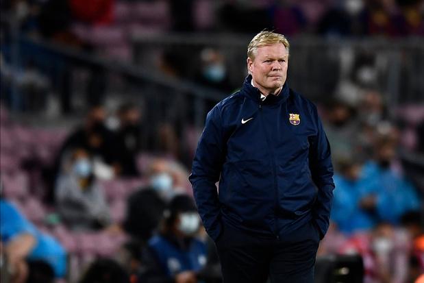 Koeman vraagt Barça-fans om geduld in verklaring: 'We zijn een elftal in opbouw'