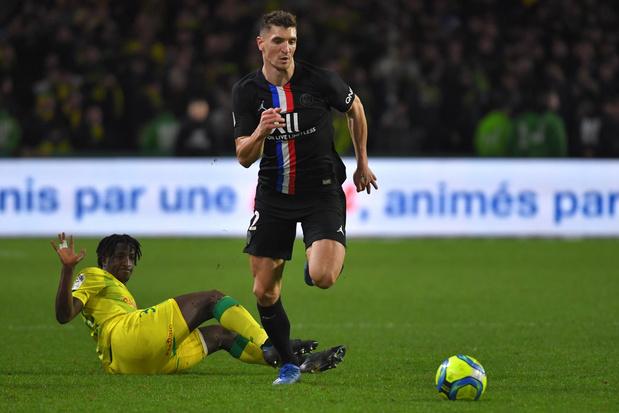 Meunier et le PSG vainqueurs face à Nantes et Emond