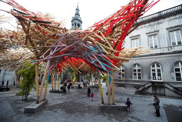 """Une exposition """"Arne Quinze"""" à Mons après le démontage de """"The Passenger"""""""