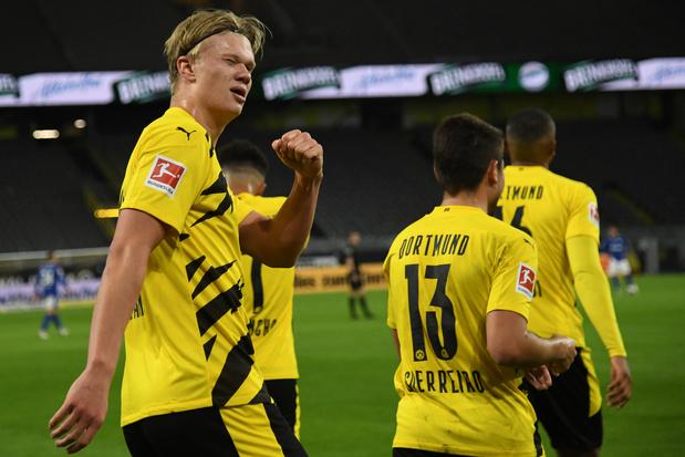 Dortmund et ses Belges remportent le derby de la Rhur face à Schalke 04