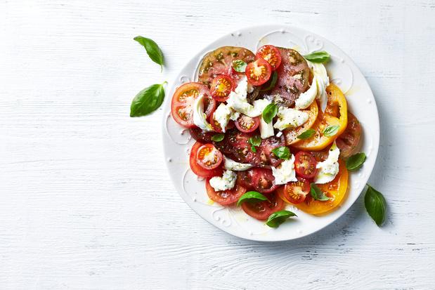 Six façons de revisiter la tomate-mozzarella