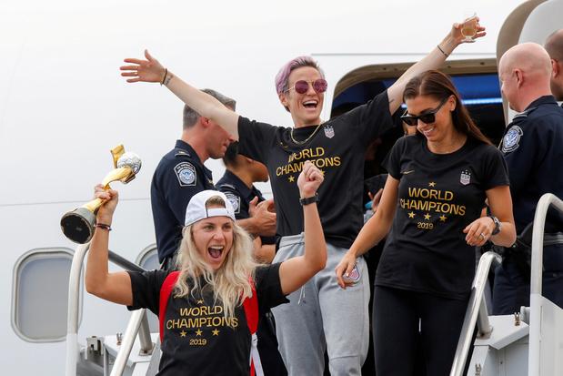 Trump n'est plus certain d'inviter les championnes américaines