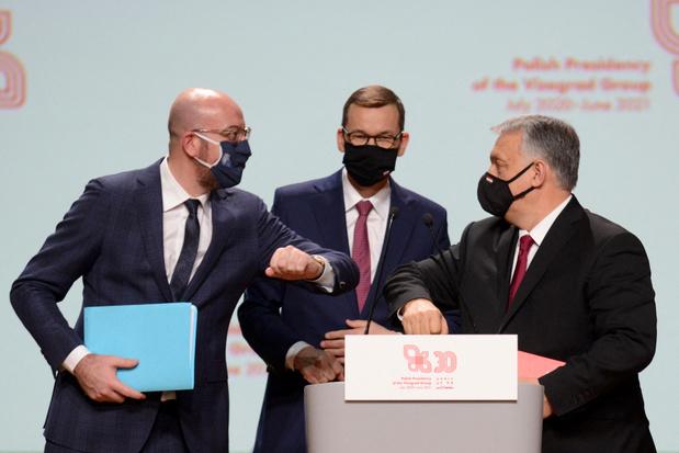 Charles Michel réaffirme les valeurs démocratiques de l'UE aux 30 ans du Groupe de Visegrad