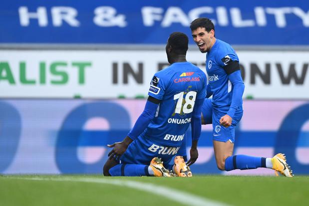 Genk pakt koppositie na 4-2 zege tegen Antwerp
