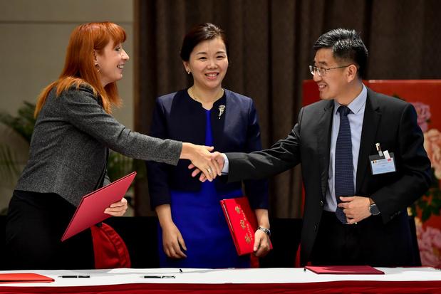 Opération séduction pour les entreprises techs du sport en Chine