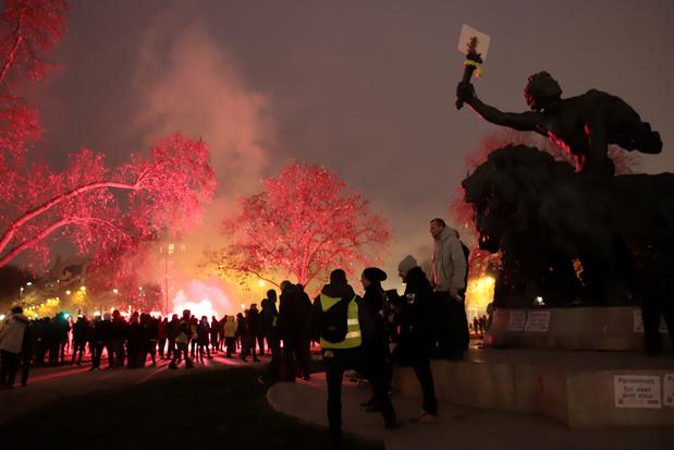 Algemene staking Frankrijk: meer dan 800.000 man op straat, vakbonden spreken van 1,5 miljoen