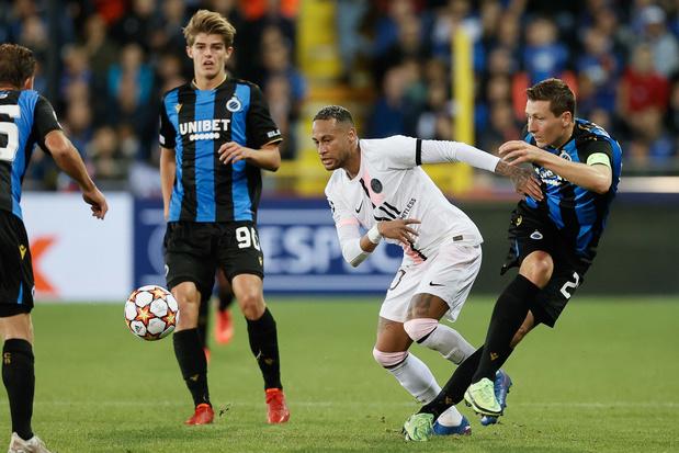 Sterk Club Brugge speelt gelijk tegen Messi en co: 1-1