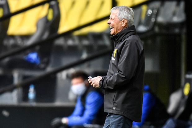 Dortmund ziet geen redenen om coach Favre op straat te zetten