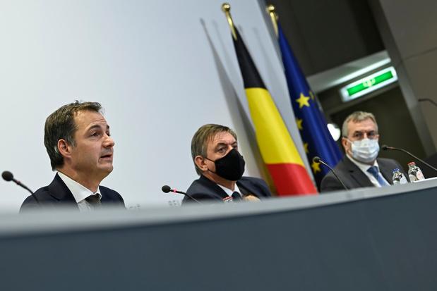 Covid: les derniers chiffres appuient la fermeté de Vandenbroucke, pas l'ouverture du MR (analyse)