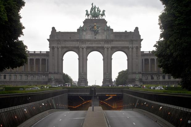 Les tunnels Loi et Cinquantenaire à Bruxelles rouverts à la circulation