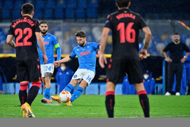 Europa League: six équipes dont Naples et la Real Sociedad assurent leur place en seizièmes de finale