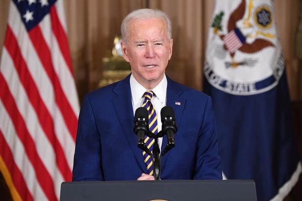 Joe Biden: 'Amerika kan niet afwezig zijn op het wereldtoneel'
