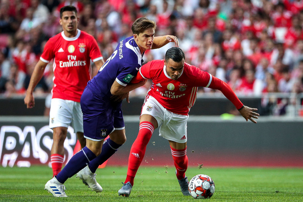 Anderlecht maîtrise Benfica en amical