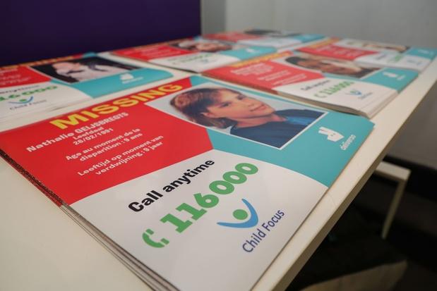 Child Focus lance une campagne pour se souvenir des enfants disparus