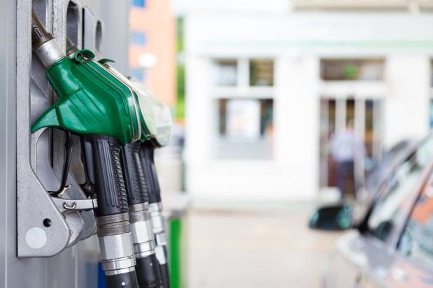 Benzineprijs weer omlaag