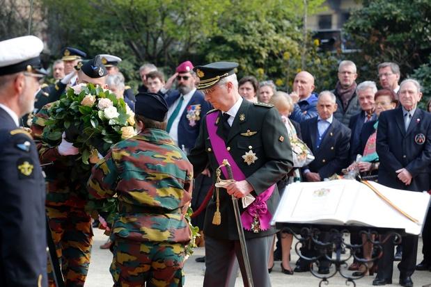 Koning Filip herdenkt gesneuvelde Belgische militairen sinds 1945: 'Het is onze plicht'