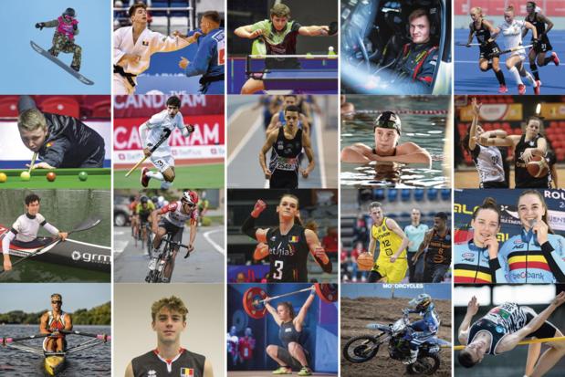 Ces 20 athlètes qui vont rapporter des médailles à la Belgique