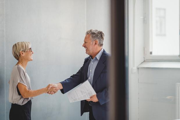 Légère augmentation de l'embauche des quinquagénaires en 2018