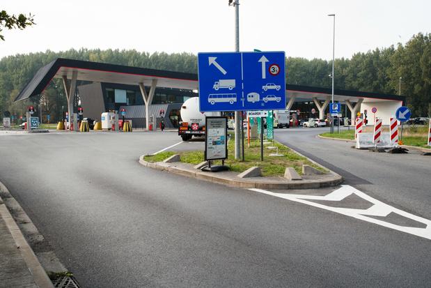 Minister Peeters kiest voor nieuwe indeling snelwegparkings