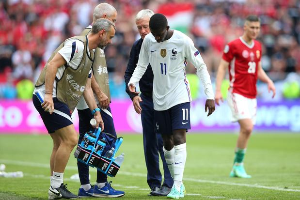 EK-nieuws: Ousmane Dembélé mist rest EK door knieblessure, Schot Billy Gilmour test positief