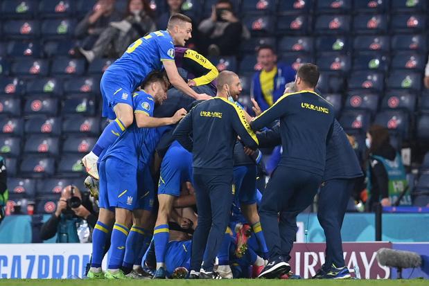 EURO 2021: l'Ukraine sort la Suède après prolongations et rejoint l'Angleterre en quarts de finale