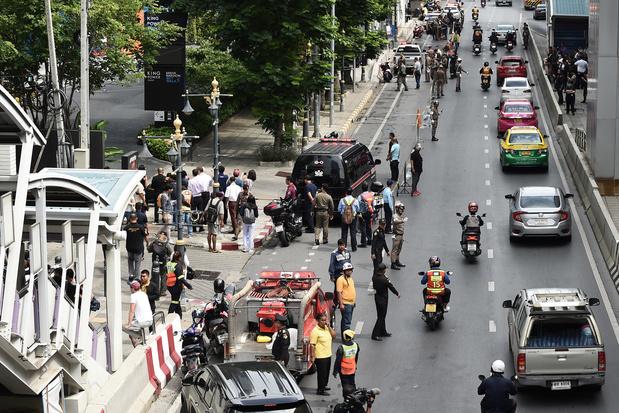 Attentats à la bombe à Bangkok en plein sommet de l'Asean, trois blessés