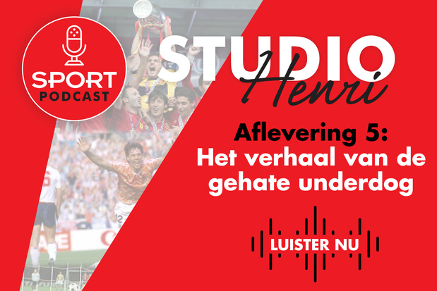 Zo kwam EURO 2000 naar België: beluister de EK-podcast Studio Henri