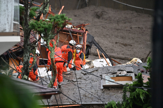 Japan: zoektocht naar overlevenden na modderstroom