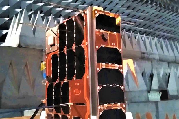 Eerste Nederlandse militaire nanosatelliet gaat vandaag de ruimte in