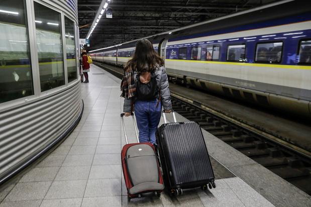 Toujours plus de voyageurs pour la SNCB