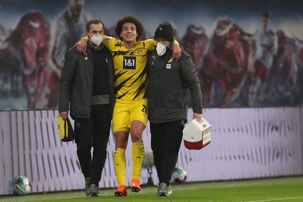 Axel Witsel valt uit met blessure