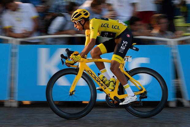 Egan Bernal pas sélectionné pour le Mondial de cyclisme