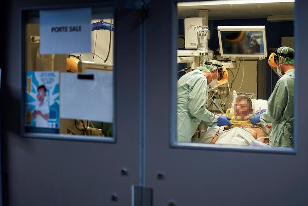 L'épidémie se poursuit en Belgique, avec 575 nouvelles hospitalisations