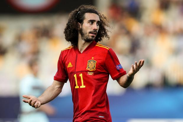Spanje in de ban van corona: bondscoach Enrique houdt elf spelers uit U21 achter de hand