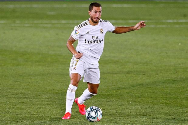 """Zidane se réjouit du retour d'Hazard: """"C'est très positif"""""""
