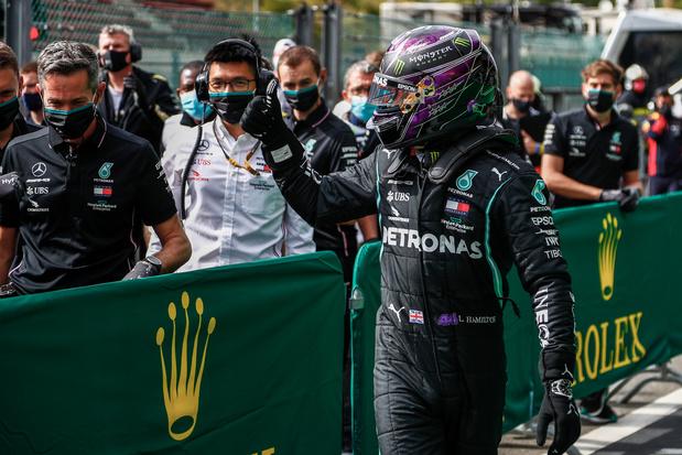 Lewis Hamilton s'impose à Spa-Francorchamps devant Bottas et Verstappen