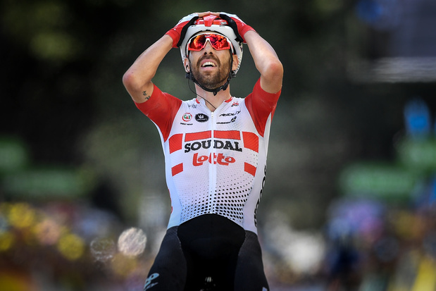 Trois victoires belges sur le Tour, meilleur total depuis 2007