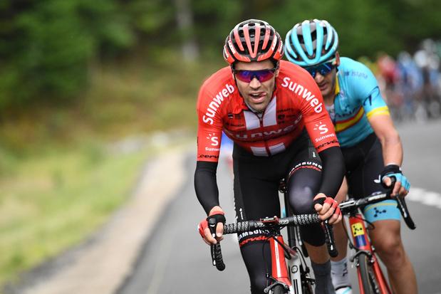 Tom Dumoulin forfait pour le Tour de France