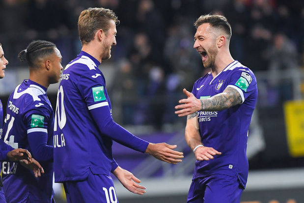 Anderlecht atomise Zulte et peut encore rêver des playoffs 1