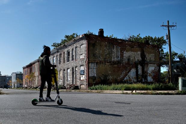 Trump ou Biden, un même désespoir plane sur Baltimore