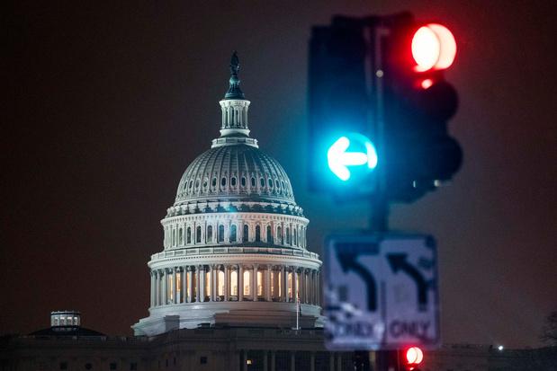 Nieuwe Amerikaanse Congres voor het eerst bijeengekomen