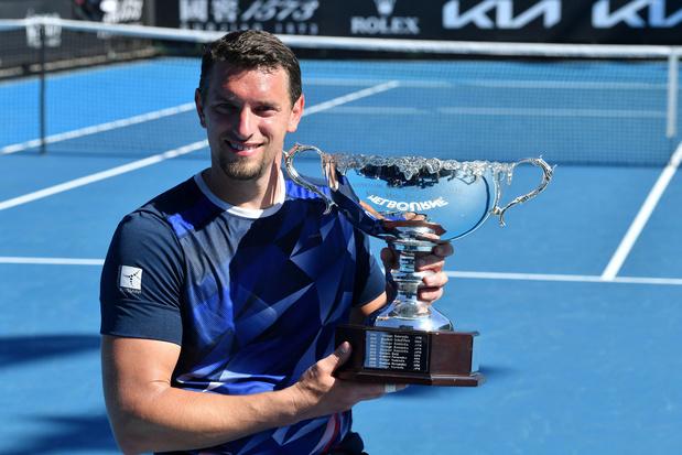 Landgenoot Joachim Gérard wint enkelspel Australian Open