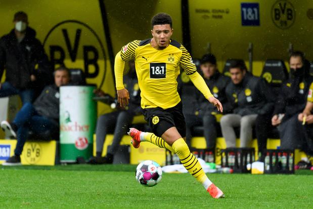 Dortmund bevestigt: Jadon Sancho voor minstens 85 miljoen euro naar Man. United