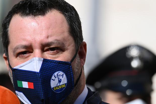 Italie: Salvini joue l'ouverture avec Draghi, embarras dans le camp Conte