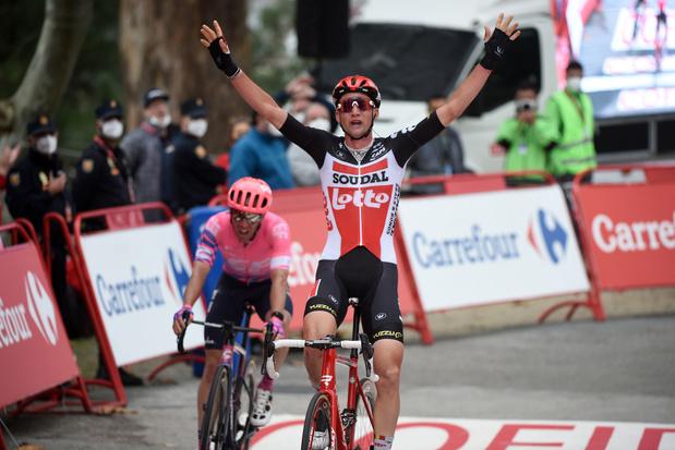 Tim Wellens pakt tweede ritzege in Vuelta