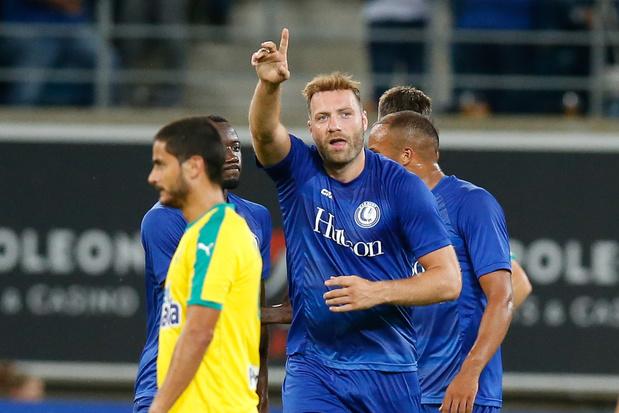 La Gantoise bat Larnaca 3-0 et rencontrera Rijeka en barrages