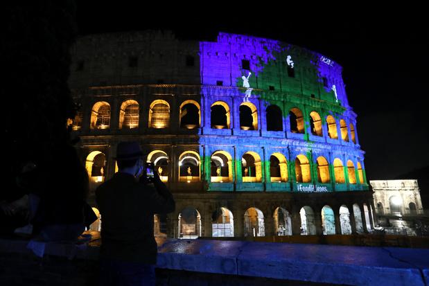 L'Europe se pare de bleu à l'occasion de la Journée des Nations Unies