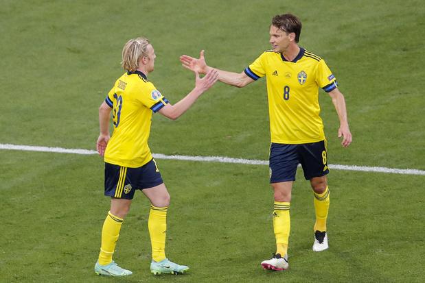EURO 2021: la Suède s'impose face à la Pologne et remporte le groupe E