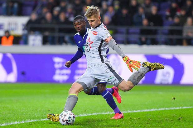 """Butez: """"Avec mon jeu au pied, c'est normal qu'Anderlecht s'intéresse à moi"""""""